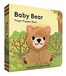 Baby Bear: Finger Puppet Book - (Board Book)