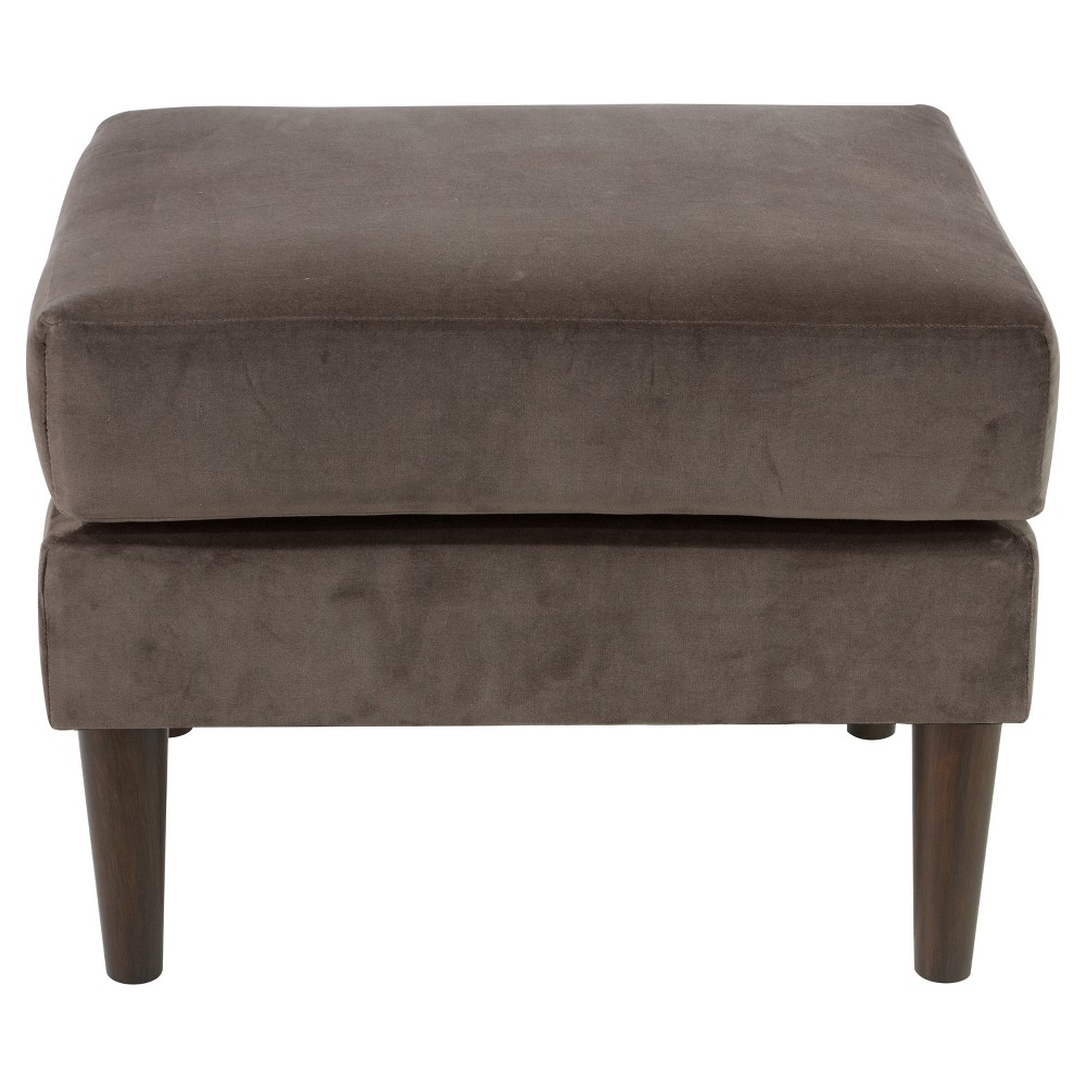 Pillowtop Ottoman in Regal Smoke - Skyline Furniture