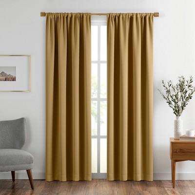 Vanderbilt Extra Wide Blackout Window Curtain Panel - SunVeil