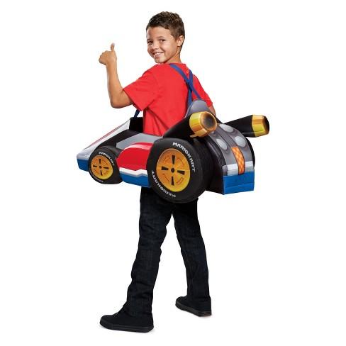 kids super mario kart halloween costume target