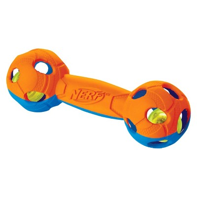 NERF® LED Barbell - Blue/Orange