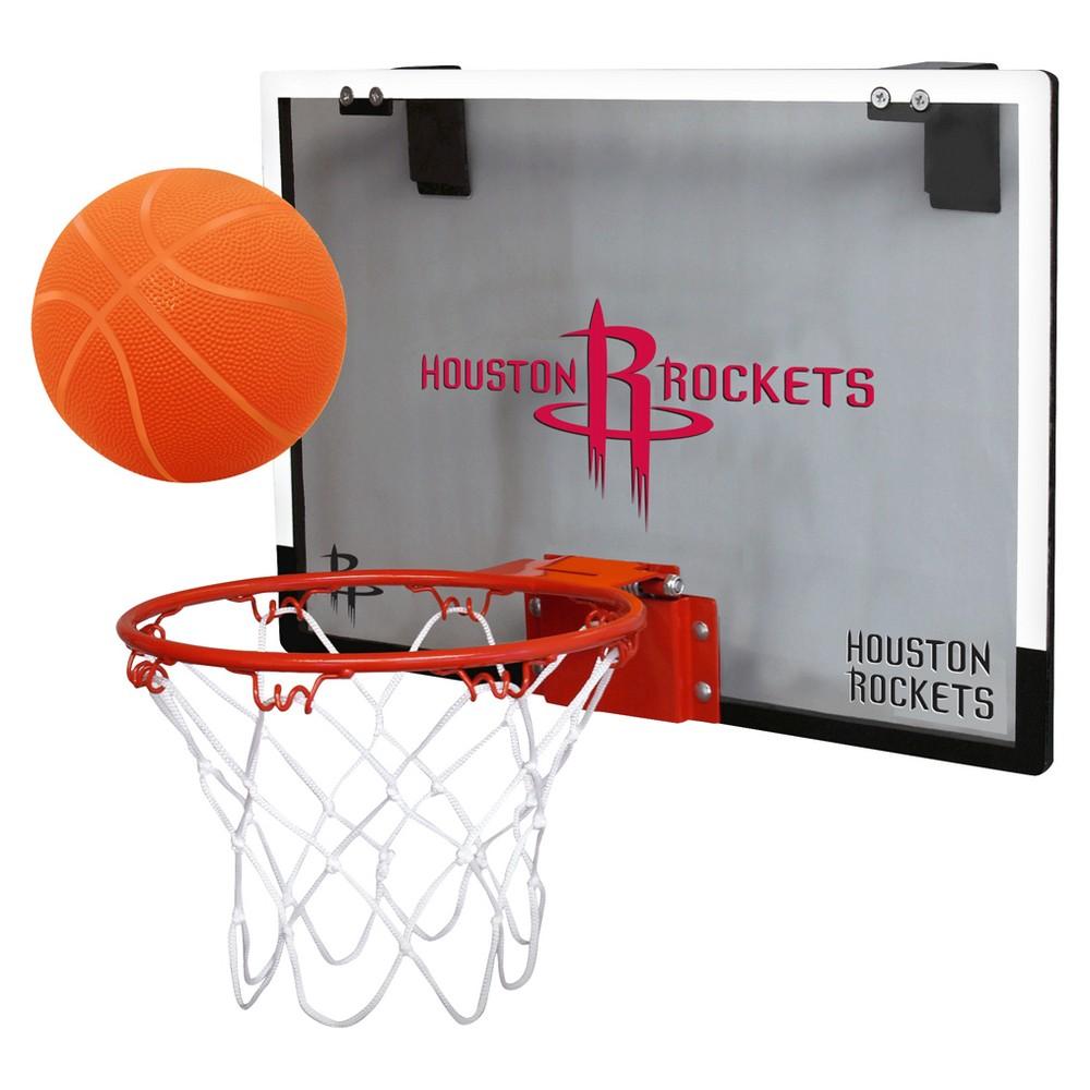 Houston Rockets Rawlings Over-The-Door Mini Hoop Set