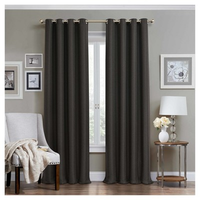 Wyndham Thermaweave Blackout Curtain Panel - Eclipse