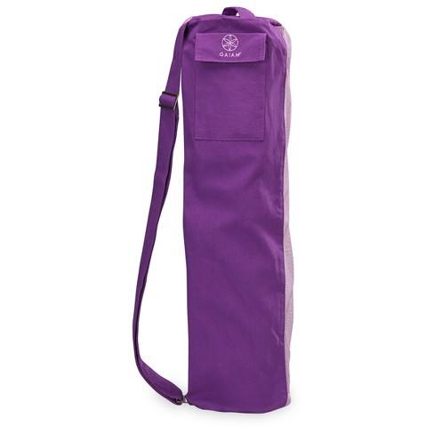 Gaiam Breathable Yoga Mat Bag - Purple   Target 54c8277a8af4a