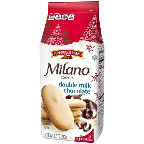 Pepperidge Farm Milano Double Milk Chocolate Cookies - 7.5oz - image 1 of 4