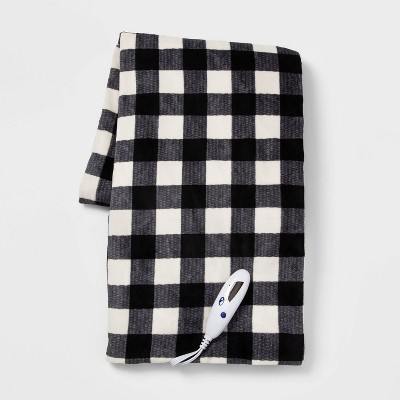 "50""x60"" Electric Microplush Throw Blanket - Threshold™"