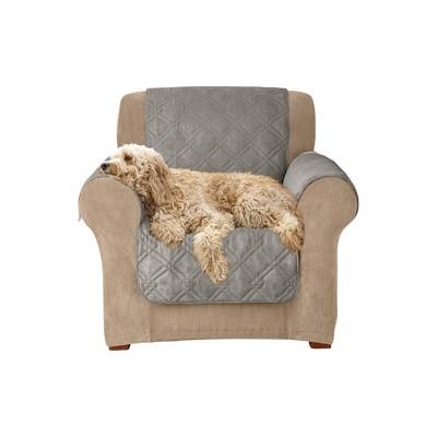 Furniture Friend Microfiber Non-Skid Chair Furniture Protector - Sure Fit