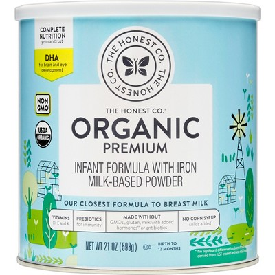 The Honest Company Organic Premium Infant Formula with DHA - 21oz