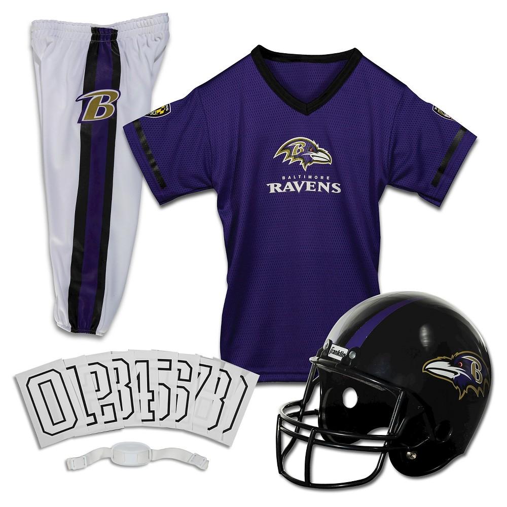 Franklin Sports NFL Baltimore Ravens Deluxe Uniform Set