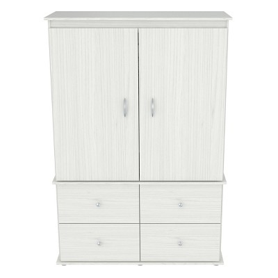 Video Combo Armoire Washed Oak - Inval