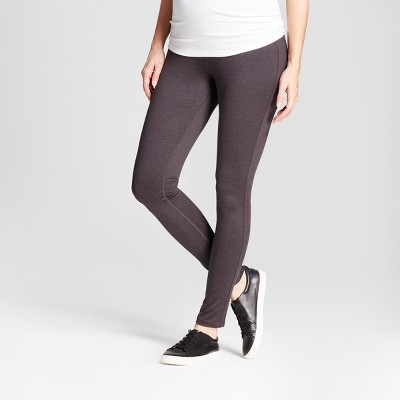 Maternity Overbelly Panel Leggings - Isabel Maternity™ by Ingrid & Isabel® Heather Gray M