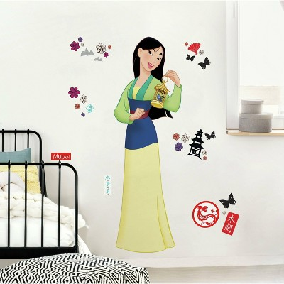 Mulan Peel and Stick Giant Wall Decal - RoomMates