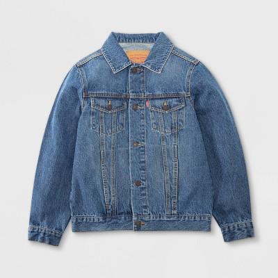 Levi's® Boys' Denim Trucker Jacket - Bristol Medium Wash