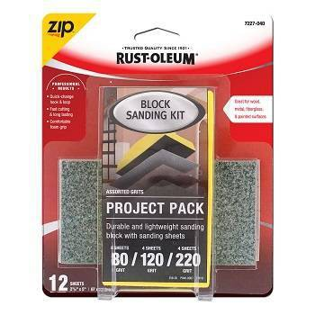 Rust-Oleum Zip Block Interior Paint Project Kit Yellow