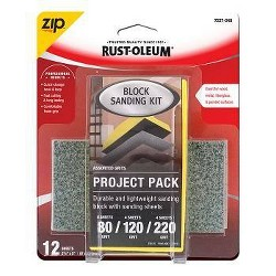 Rust-Oleum Zip Block Interior Paint Project Kit Yellow