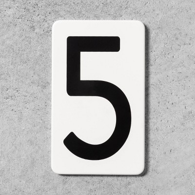 5 House Number Plate - Hearth & Hand™ with Magnolia