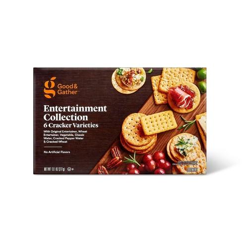 Entertaining Cracker Assortment - 13.1oz - Good & Gather™ - image 1 of 3