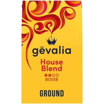 Gevalia House Blend Medium Roast Ground Coffee - 20oz