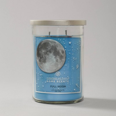 19oz Glass Jar 2-Wick New Moon Candle - Home Scents by Chesapeake Bay Candle