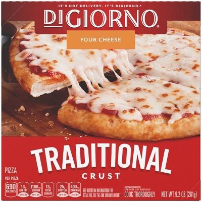 DiGiorno Traditional Crust Four Cheese Frozen Pizza - 9.2oz