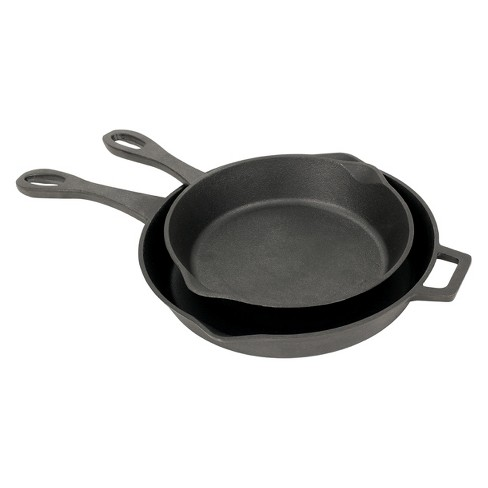Bayou Classic Cast Iron 10in & 12in Skillet Set - image 1 of 2