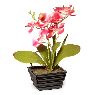 """12"""" Pink Orchid Flower - National Tree Company"""