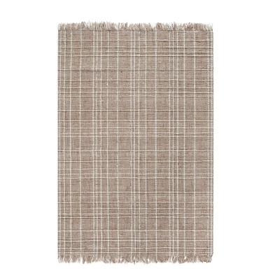 8'x10' Okemah Jute/Wool Rug Ivory - Anji Mountain