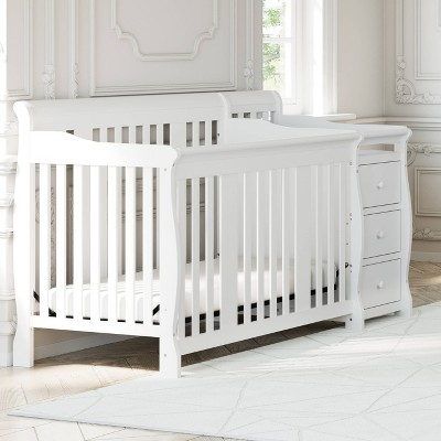 Storkcraft Portofino 4-in-1 Convertible Crib and Changer