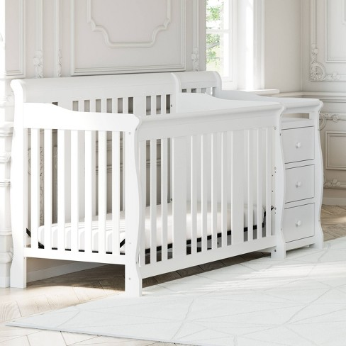 Storkcraft Portofino 4-in-1 Convertible Crib and Changer - image 1 of 4