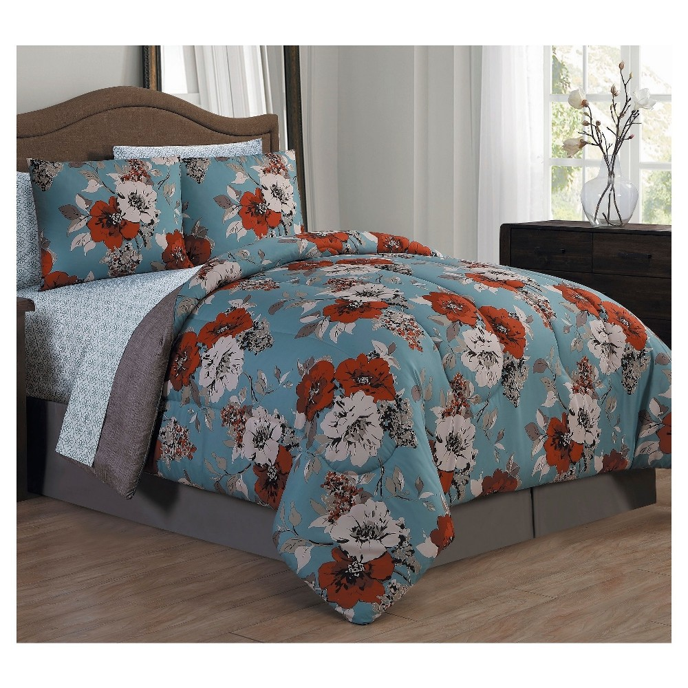 Blue & Spice Kadie Bed in a Bag Set (King) 8pc