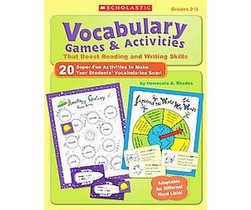 Vocabulary Games & Activities That Boost Reading and Writing Skills (Paperback) (Immacula A. Rhodes) - image 1 of 1