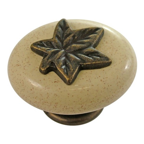 "Hickory Hardware P3031 Country Casual 1-1/2"" Oval Cabinet Knob - image 1 of 1"