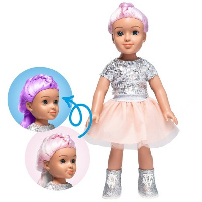 "I'M A WOW Ava The Ballerina 14"" Fashion Doll with Color-Changing Hair"