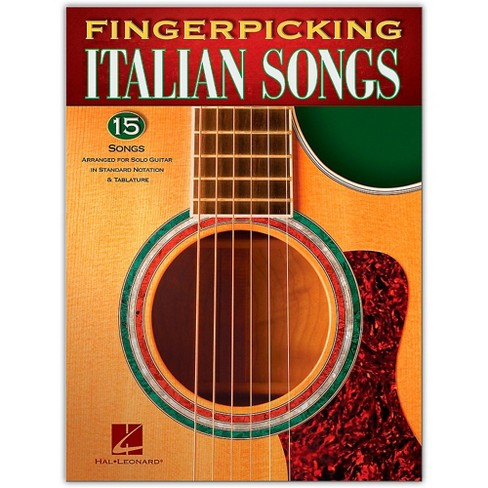 Hal Leonard Fingerpicking Italian Songs for Solo Guitar - image 1 of 1