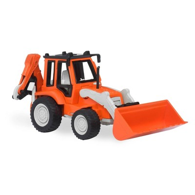 DRIVEN – Toy Digger Truck – Backhoe Loader – Micro Series