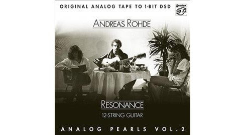Andreas Rohde - Analog Pearls:Vol 2 Resonance (CD) - image 1 of 1