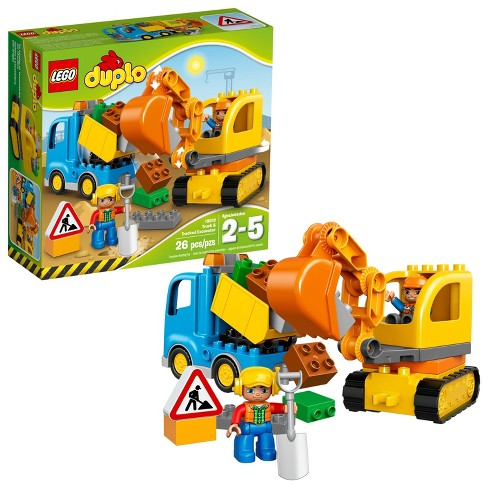 LEGO DUPLO Truck & Tracked Excavator 10812 - image 1 of 4