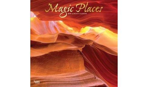 Magic Places 2019 Calendar -  (Paperback) - image 1 of 1