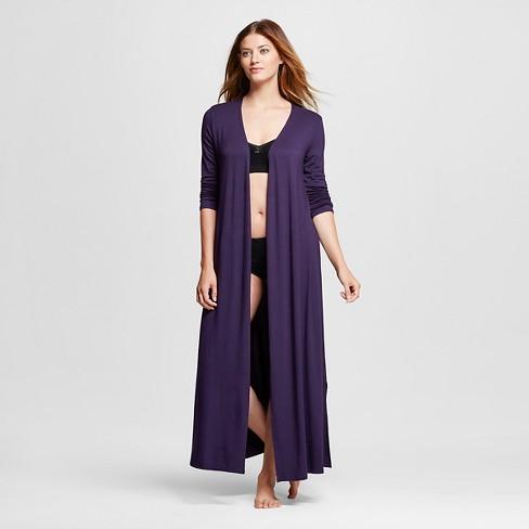 a7387eb3e3ee Women s Fluid knit Maxi Robe - Gilligan   O Malley™ - Purple Bergamot