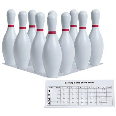 Champion Non-Weighted Bowling Pins, set of 10