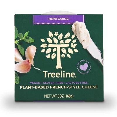 Treeline Herb-Garlic Vegan Nut Cheese - 6oz