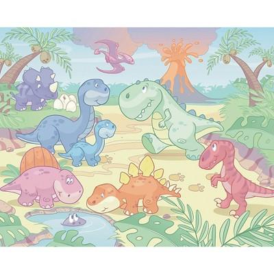 Walltastic Baby Dino World Mural