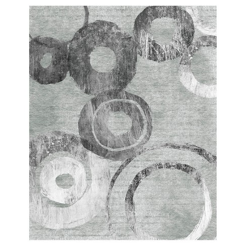 Abstract In Circles 2 Unframed Wall Canvas Art - (24X30) - image 1 of 1