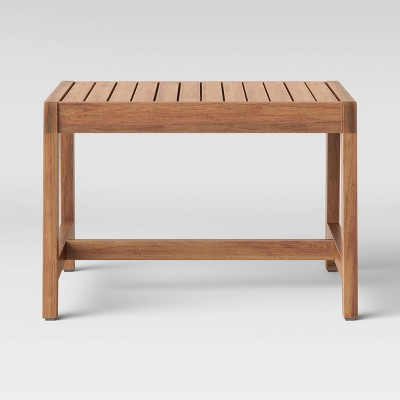 Lena Wood Patio End Table - Brown - Project 62™