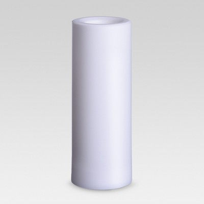 Outdoor LED Flameless Candle - 3 x8  - White - Project 62™