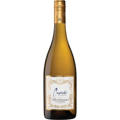 Cupcake Butterkissed Chardonnay White Wine - 750ml Bottle