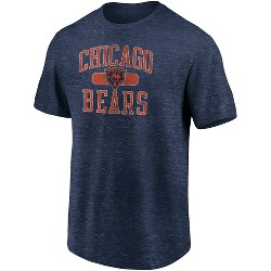 NFL Chicago Bears Men's Heather Short Sleeve T-Shirt