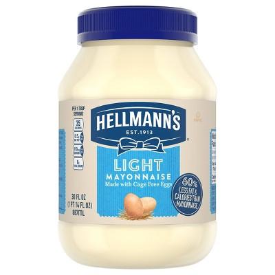 Hellmann's Mayonnaise Light - 30oz