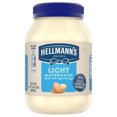 Hellmann's Mayonnaise Light - 30oz - image 1 of 4