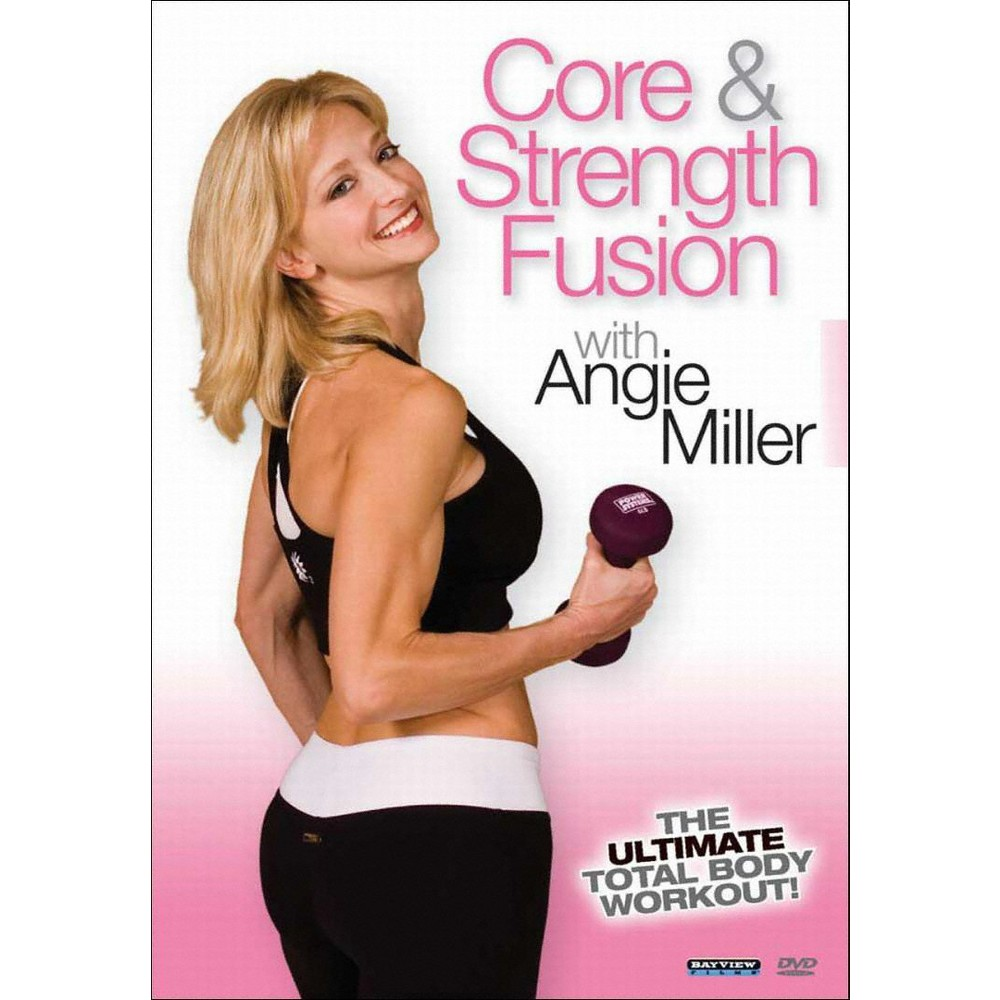 Angie Miller:Core & Strength Fusion (Dvd)